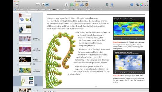 iBooks Author App