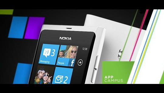 AppCampus Nokia y Microsoft