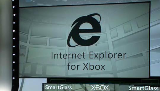 Internet Explorer para Xbox