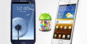 Samsung Galaxy S3 Galaxy S2