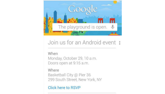 Google Android New York