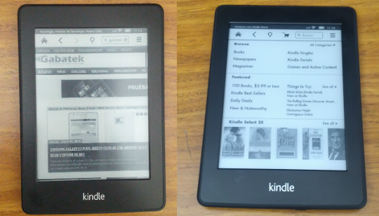 Kindle Paperwhite Análisis