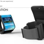 Celular Flexible Reloj Inteligente