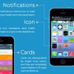 Healthbook app iPhone notificaciones