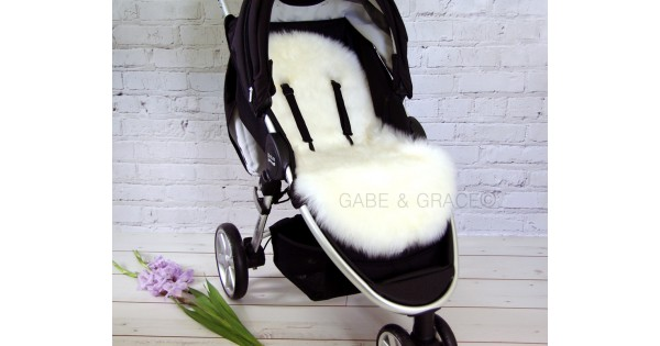 Mima Xari Pram Uk Luxury Lambskin Pram Liners Shorn Wool