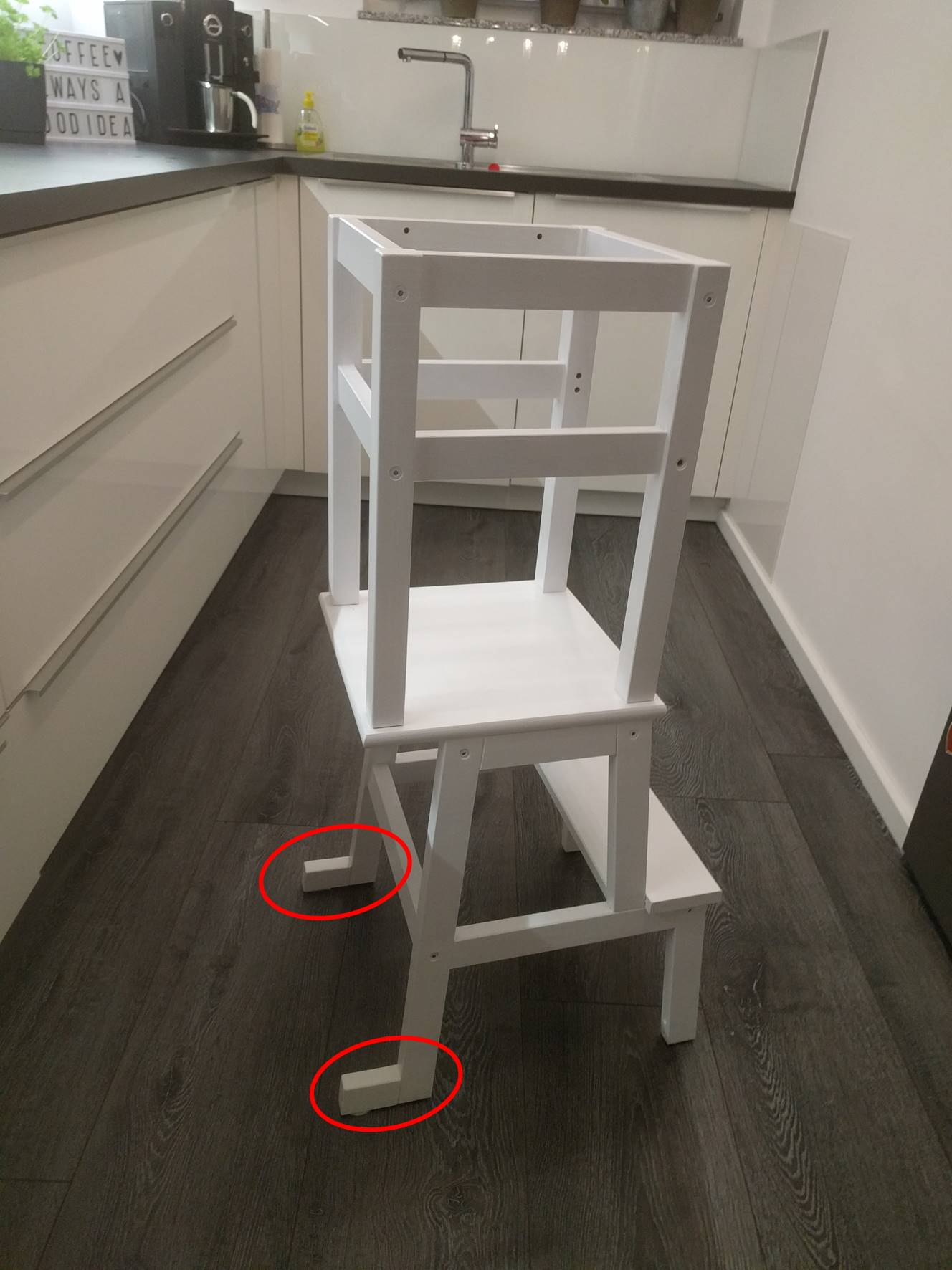 Hocker Kinder Küche Ikea Learning Tower Ikea Hack Gabelschereblog