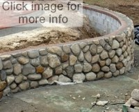 Garden Stone Wall Ideas | Stone Block Walls Design | Gabion1