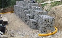 Low cost drainage for retaining wall systems | Pipe price USA