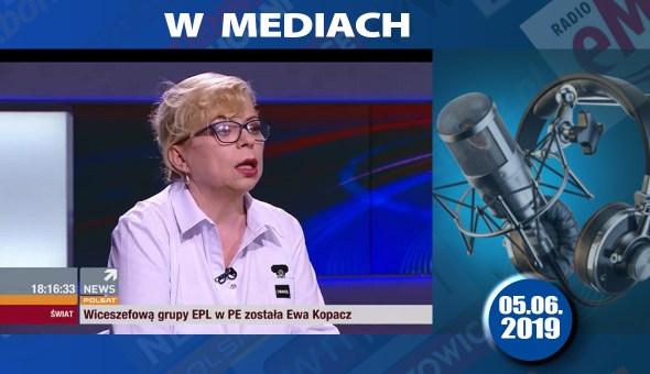 czolówka www w mediach Polsat 05.06.2019
