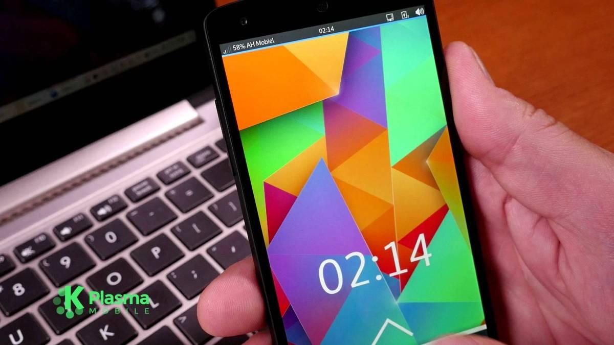 Plasma Mobile (Plasma para tu móvil)