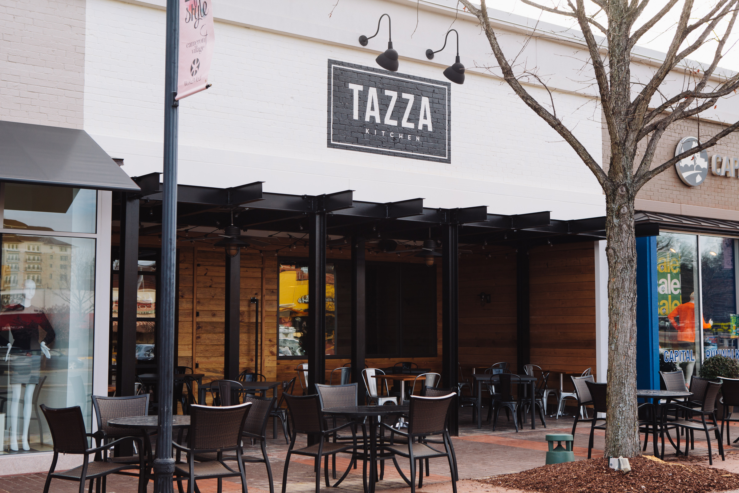 tazza kitchen in raleigh's cameron village opens tuesday