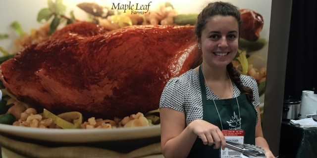 Maple Leaf Farms at the Fancy Food Show