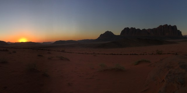Wadi Rum: Feeling Small & Free
