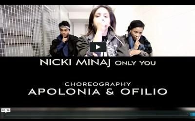 Nicki Minaj Hip Hop Dance Video by Apolonia Ofilio