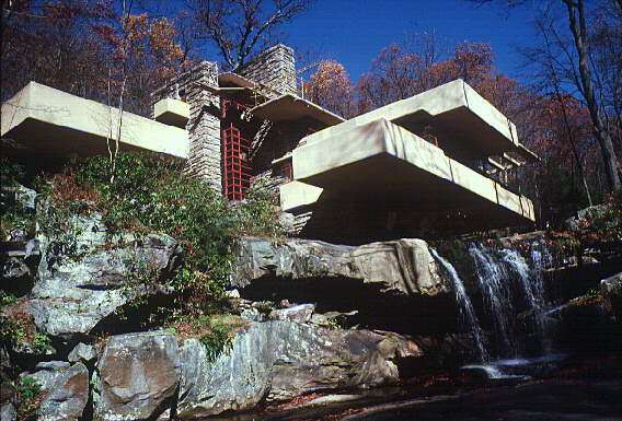 Frank Lloyd Wright Falling Water Wallpaper Gadfly Online