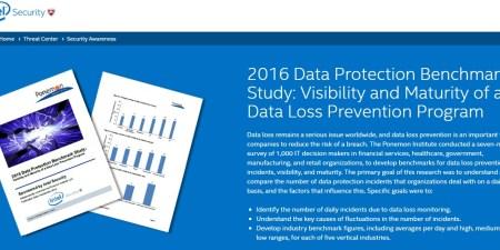 Estudio comparativo de protección de datos de 2016