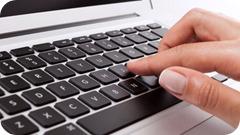hand-on-keyboard-laptop-object