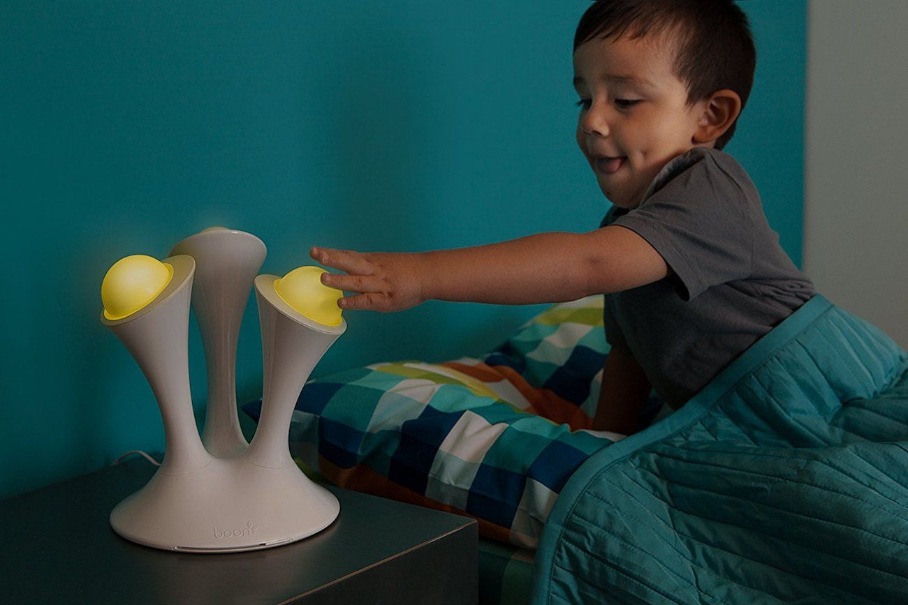 Glow Toys For Bedtime Boon Glo Portable Ball Nightlight Gadget Flow