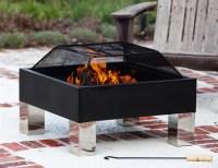 Fire Sense Hotspot Square Fire Pit  Gadget Flow