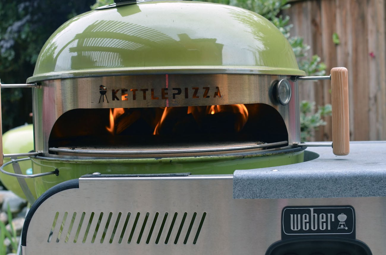 Weber Pizza Kettlepizza Wood Fired Pizza Oven Kit Gadget Flow