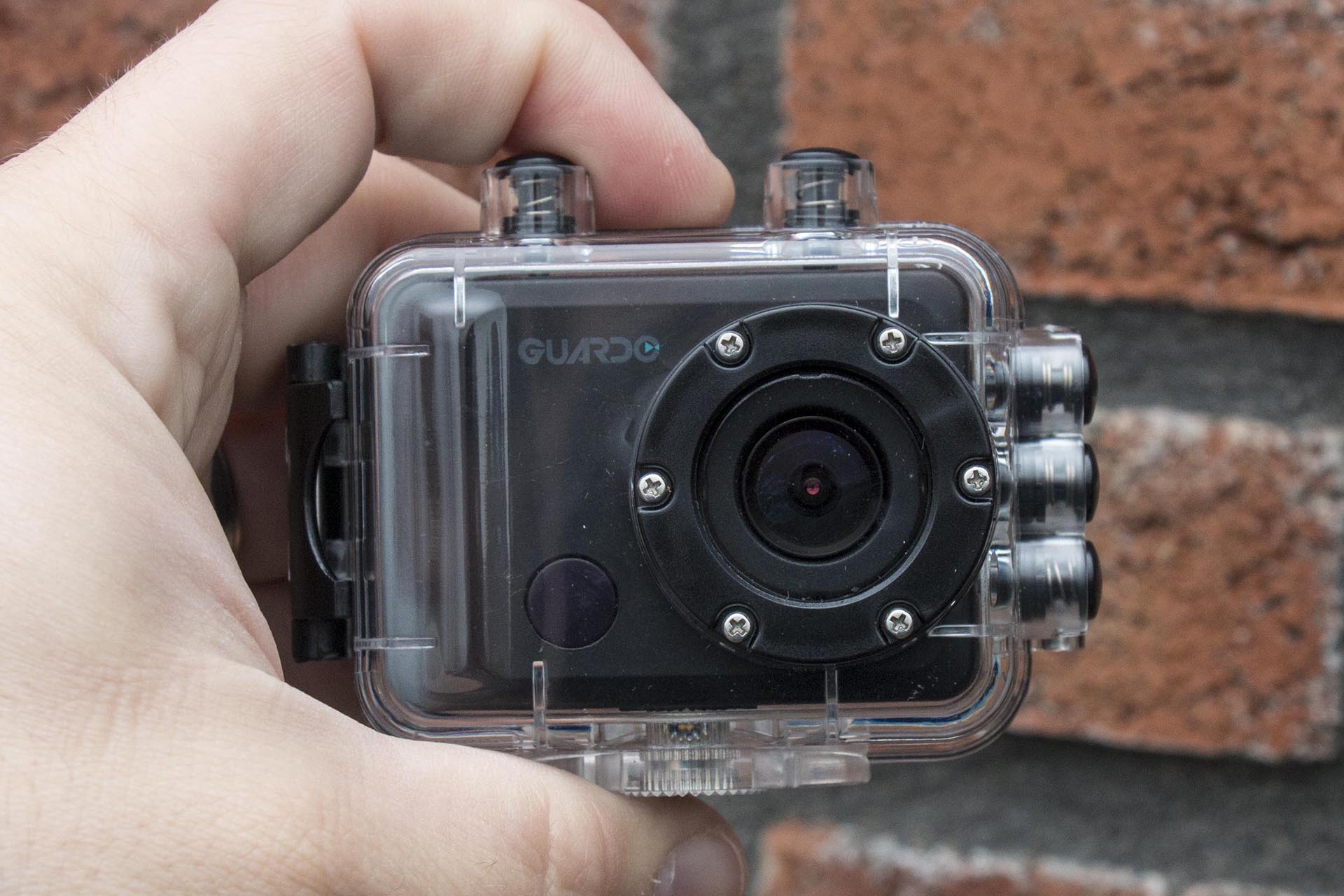 Slimme Verlichting Action Review Guardo Action Cam One Gadgetgear Nl