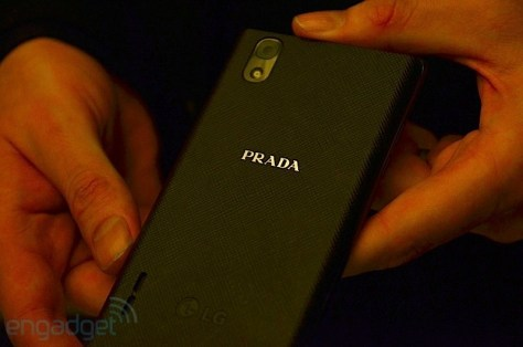 LG Prada 3.0 Smart phone - Rear View