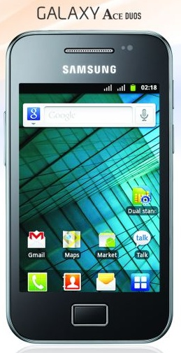 Samsung Galaxy Ace Duos (SCH-i589) India Price, Specs, Pictures