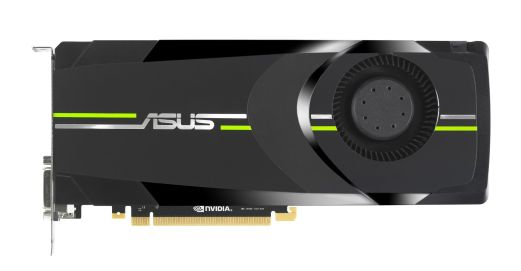 ASUS GTX 680 Graphics Card - Top view