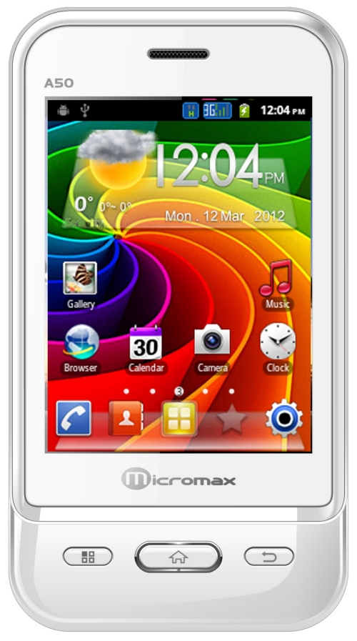 Micromax A50 Aisha Pictures, Specs, India Price