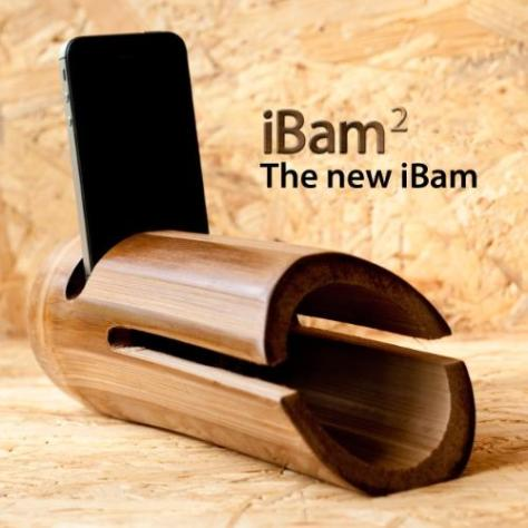 iBam 2 - Natural Bamboo Speakers