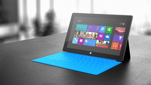 Microsoft Surface Tablet - Cyan Colour