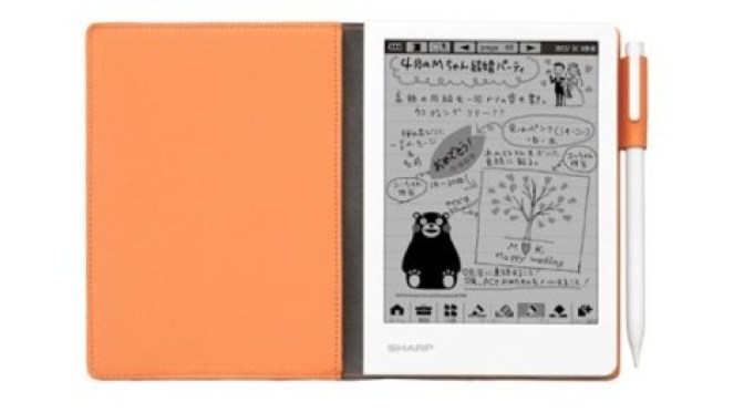Sharp WG-N20 Digital Notepad Pictures