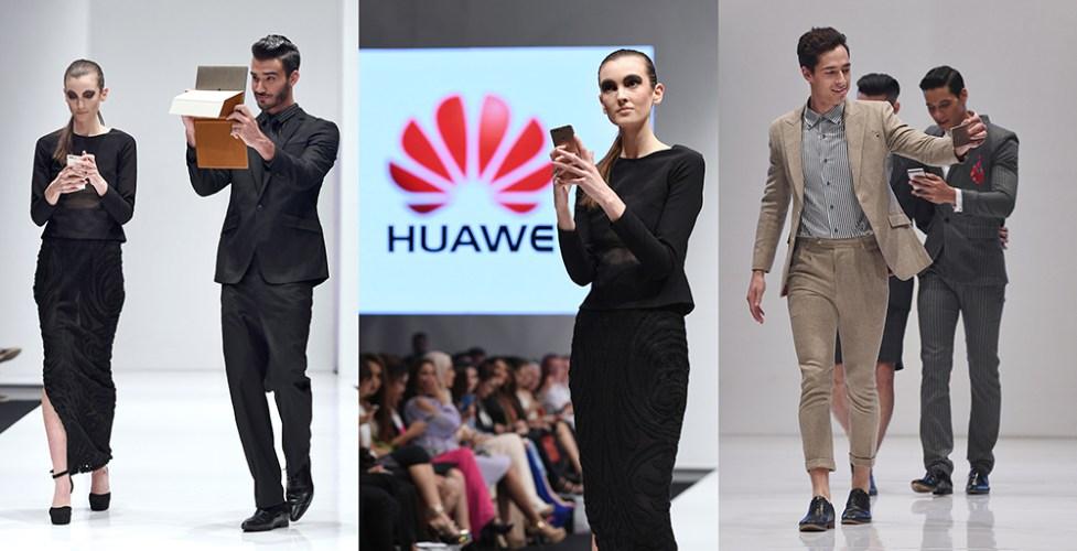 Huawei Matebook @ KL Fashion Week RTW 2016