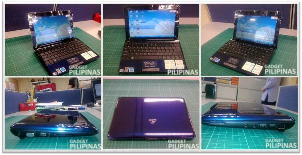 Eee PC 1005HA Design