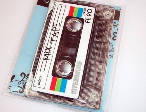 Ipad Mini Case 80's Retro Mix Cassette Tape Gadget Case Not Only For