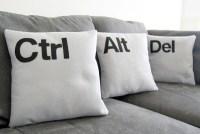 Ctrl Alt Del Pillow Set   Gadgetsin
