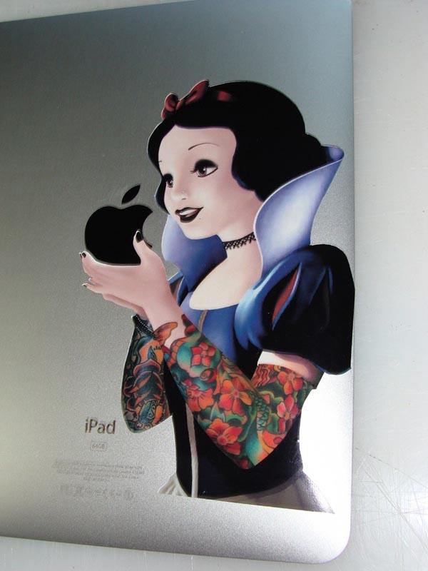 Black And White Gothic Wallpaper Goth Snow White Ipad Decal Gadgetsin