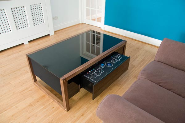 Couchtisch Sobro Surface Tension Arcade Game Coffee Table | Gadgetsin