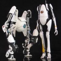 Custom Portal 2 Action Figures | Gadgetsin