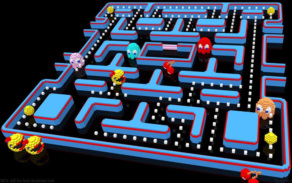 New 3d Abstract Wallpapers Retro Nes Games Got New 3d Life Gadgetsin
