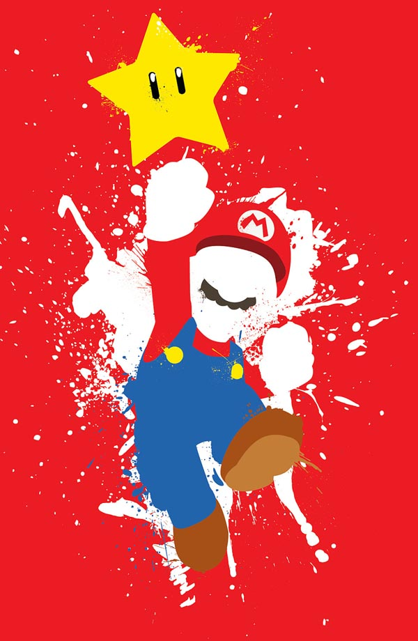 The Flash Iphone Wallpaper Super Mario Poster Set Gadgetsin