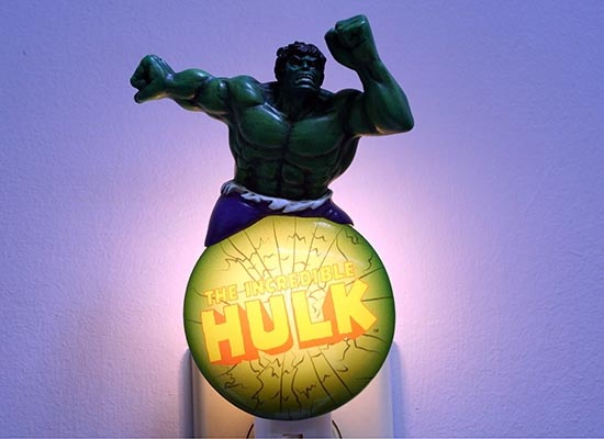Led Bulb Watt Superhero Night Lights | Gadgetsin