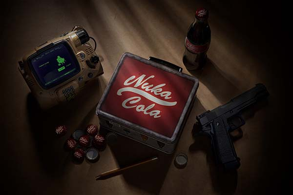 Wallpaper Apple Iphone 6 Fallout 4 Nuka Cola Lunch Box Gadgetsin