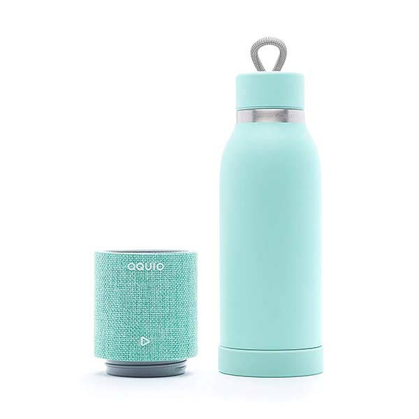 & Wall Clock Aquio Double-wall Stainless Steel Insulated Water Bottle