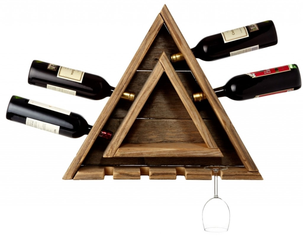 Planks Couchtisch Triangular Wine Rack – Gadgets Matrix