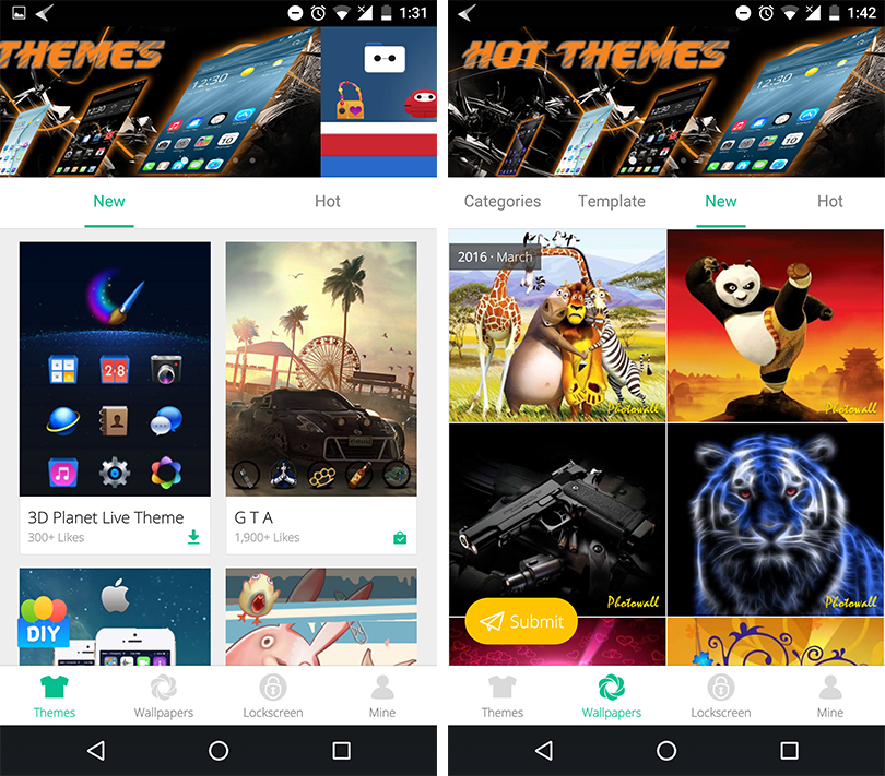 Cm Launcher 3d Wallpaper Download App Review Cheetah Mobile 3d Launcher Different Launcher