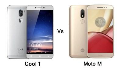 Coolpad Cool 1 vs Moto M Quick Comparison Review