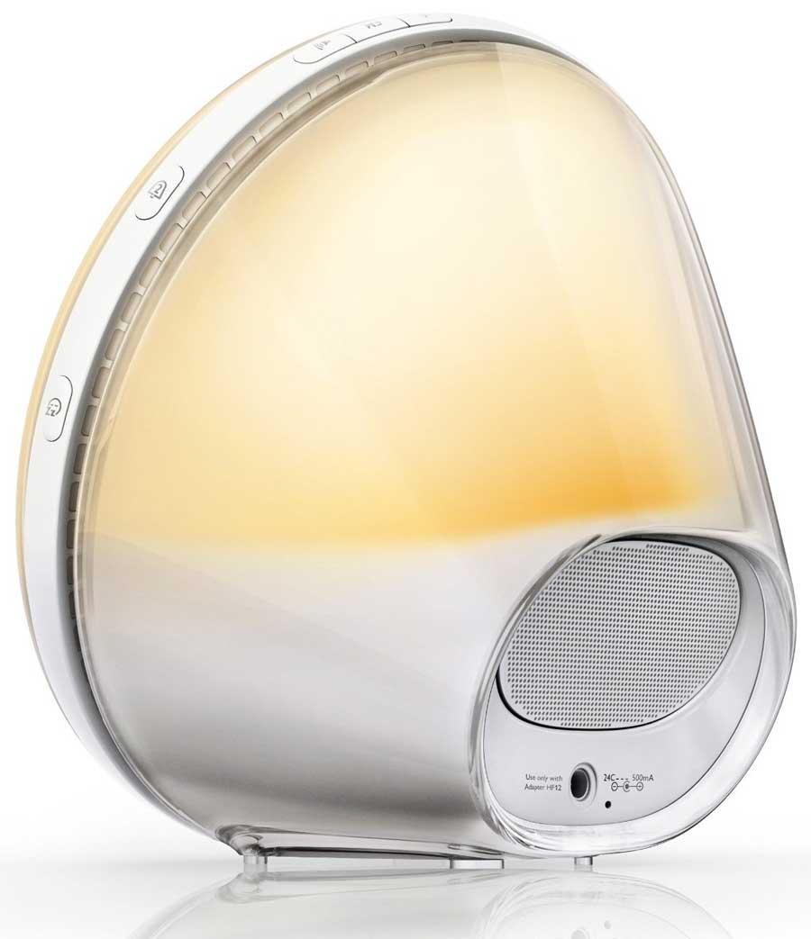 Dawn simulator alarm clock - Philips HF3520