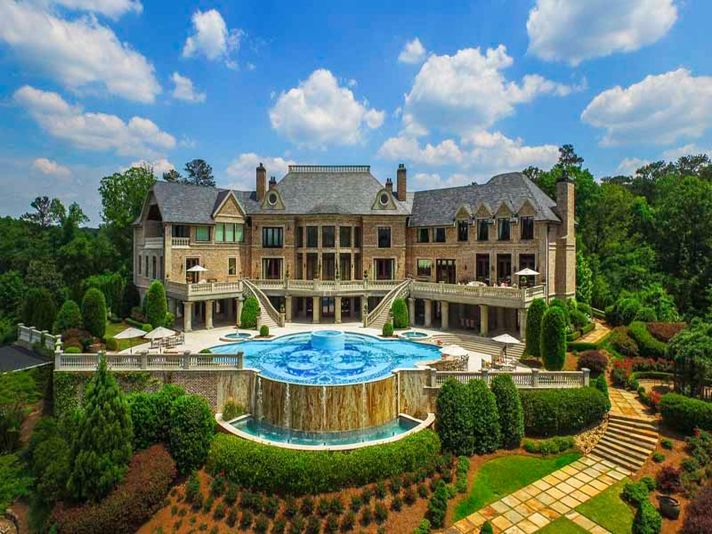 Lakeside Movie House The 10 Most Expensive Homes In Georgia Gafollowers
