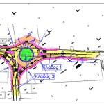 Μετατροπή τρισκελούς ισόπεδου κόμβου σε κυκλικό στη ΠΕΟ 08 για την πρόσβαση του οικισμού Ζευγολατιού